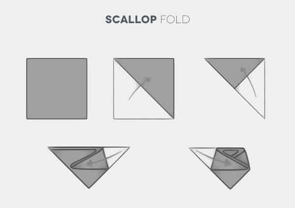 How To Fold A Scallop Pocket Square