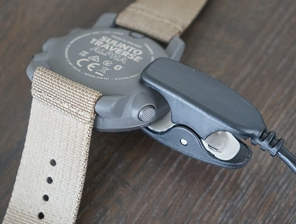 How To Recharge The Battery Suunto Traverse Alpha Watch