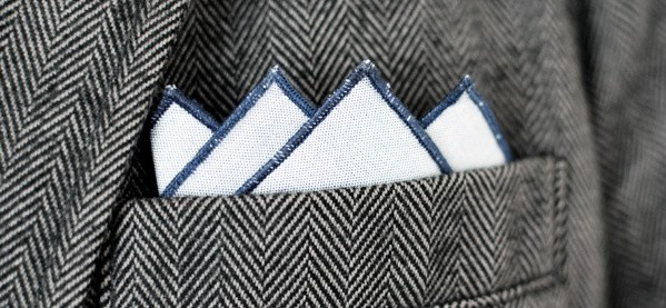 How To Wear A Four Point Pocket Square