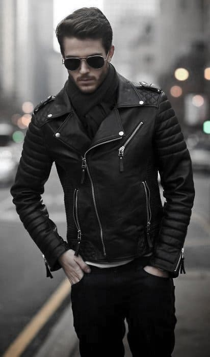 How To Wear A Leather Jacket Awesome Leather Jacket Outfits Styles For Men