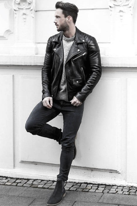 How to Wear a Leather Jacket?