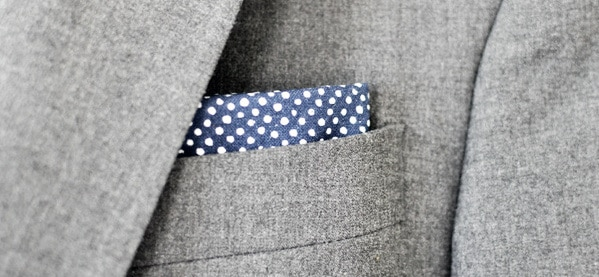 How To Wear A Straight Pocket Square