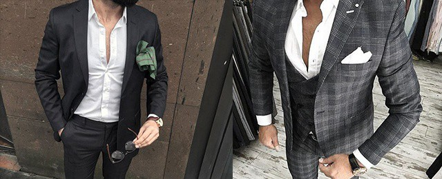 How To Wear A Suit Without A Tie For Men
