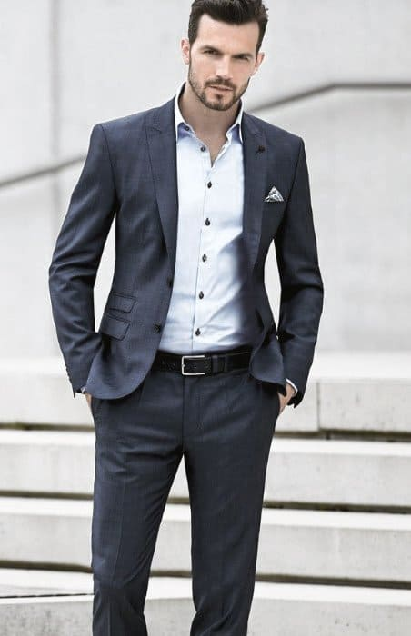 How To Wear A Suit Without A Tie Outfits Outfits For Men