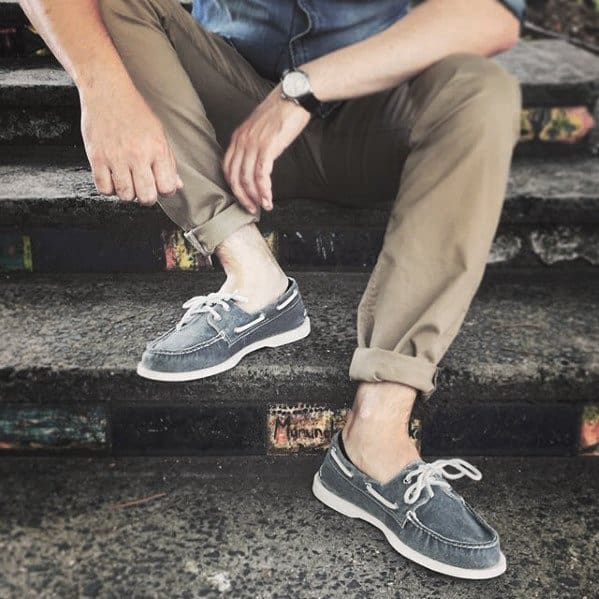 How To Wear Boat Shoes Outfits Mens Style Ideas
