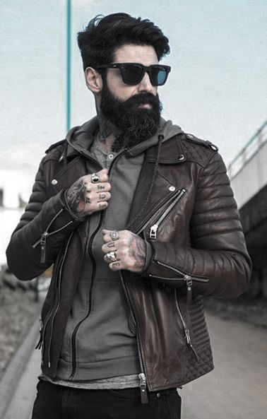 How To Wear Brown Leather Jacket Great Outfits Styles For Men