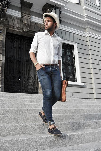 How To Wear Masculine Boat Shoes Outfits Style Ideas For Men