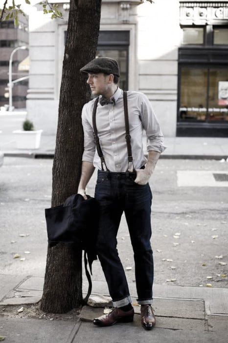 How To Wear Masculine Suspenders With Jeans Outfits Style Ideas For Men