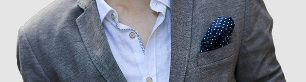 How To Wear Men's Pocket Squares