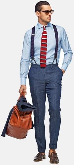 How To Wear Suspenders For Men