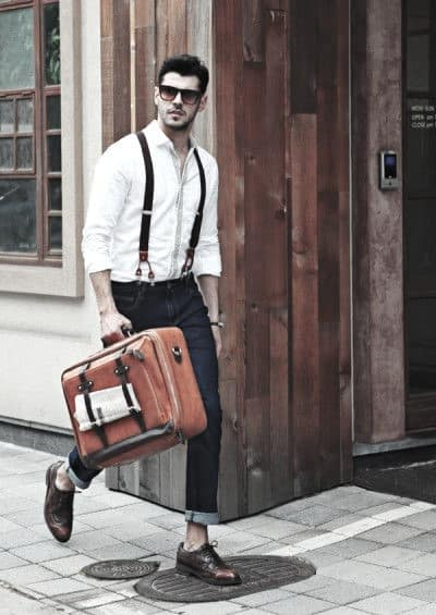 How To Wear Suspenders With Jeans Outfits Outfits For Men