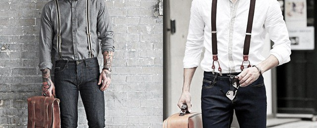 How To Wear Suspenders With Jeans For Men – 30 Male Fashion Styles