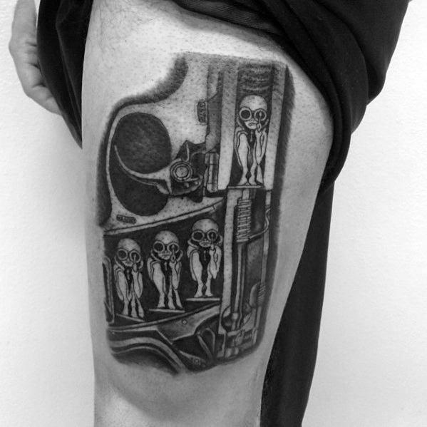 Hr Giger Guys Tattoo Designs