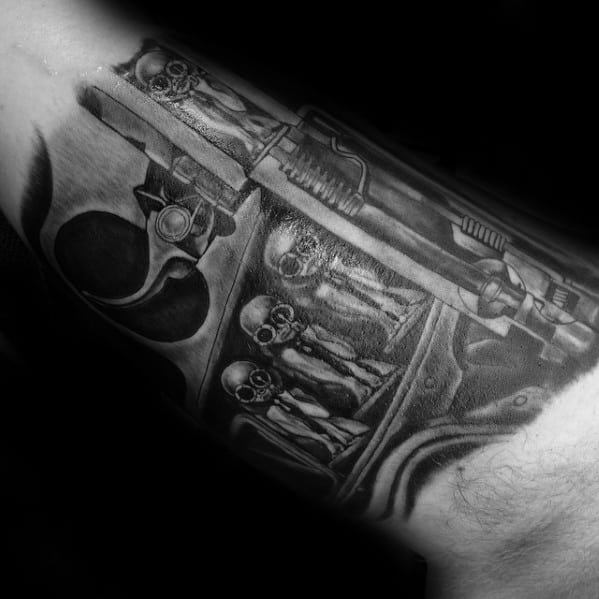 Hr Giger Tattoo Design Ideas For Males