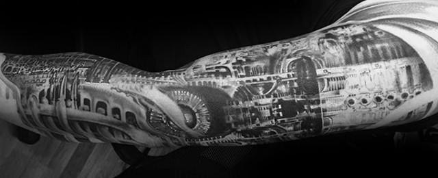 50 Hr Giger Tattoo Designs For Men – Swiss Painter Ink Ideas