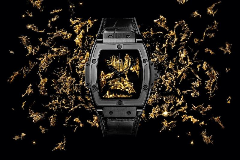 Hublot's Lab-Grown Gold Crystals Boasts the Midas Touch