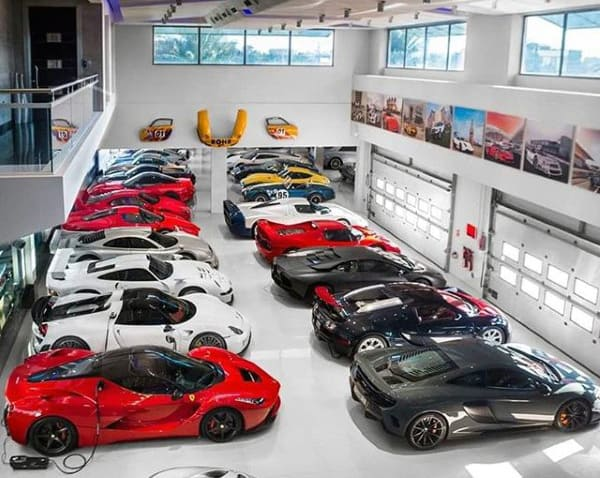 Huge Car Collection Dream Garage Filled With Exotics