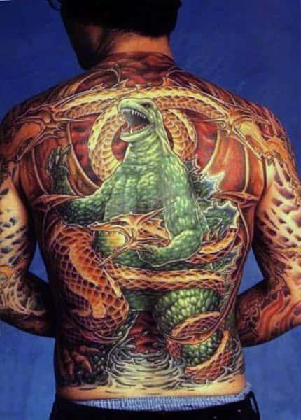huge-godzilla-on-back-detailed-tattoo-for-man