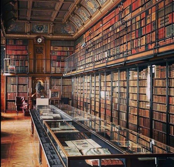 Huge Library Floor To Ceiling Bookshelves Ideas Inspiration
