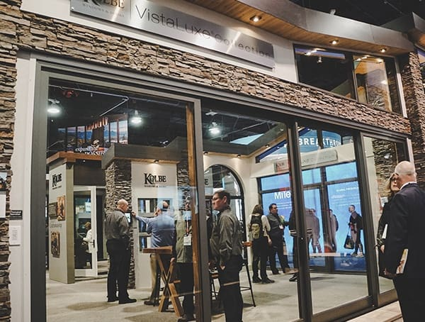 Huge Sliding Glass Doors 2019 Nahb International Builders Show
