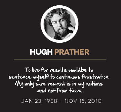 Hugh Prather Quotes