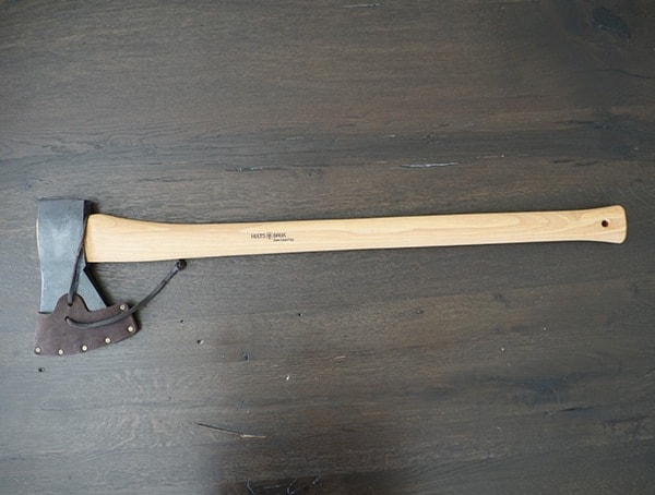 Hults Bruk American Felling Axe Front