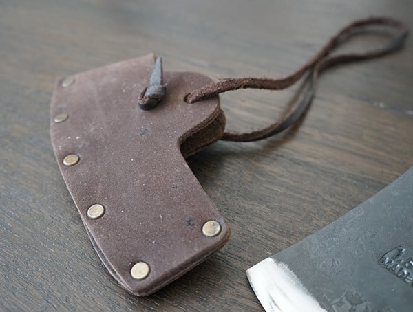 Hults Bruk American Felling Axe With Leather Sheath