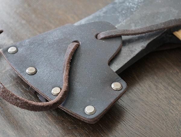 Hults Bruk Sarek Splitting Axe With Leather Sheath