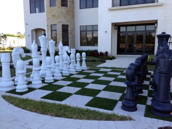 Human Sized Chess Board Coolest Backyard Designs