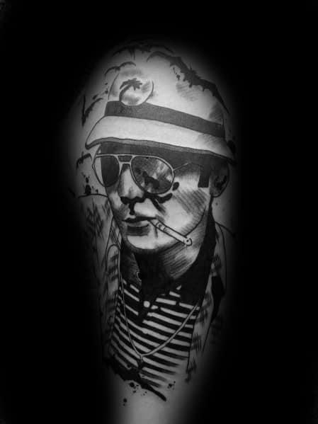 Hunter S Thompson Tattoos For Gentlemen