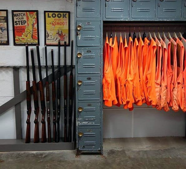 Hunters Simple Gun Locker Room