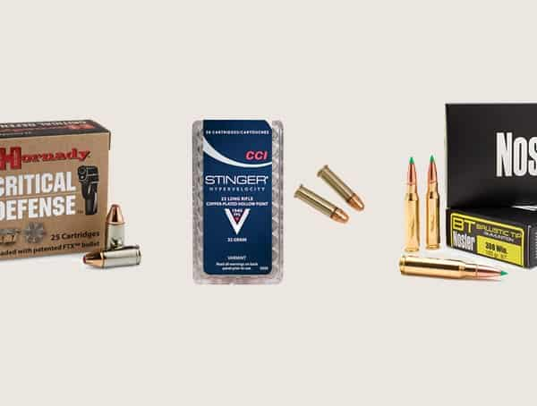 Hunting Ammunition For Bug Out Bags