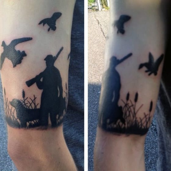 Hunting Tattoo Design Inspiration For Men On Wrist