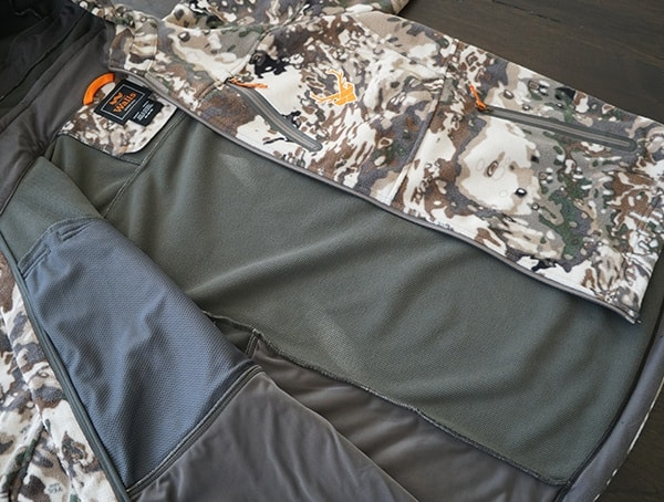 Hunting Walls Pro Series Xelerator Jacket Interior Lining