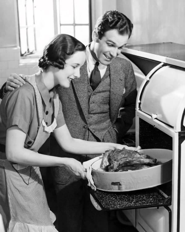 Husband And Wife 1950s Male Fashion
