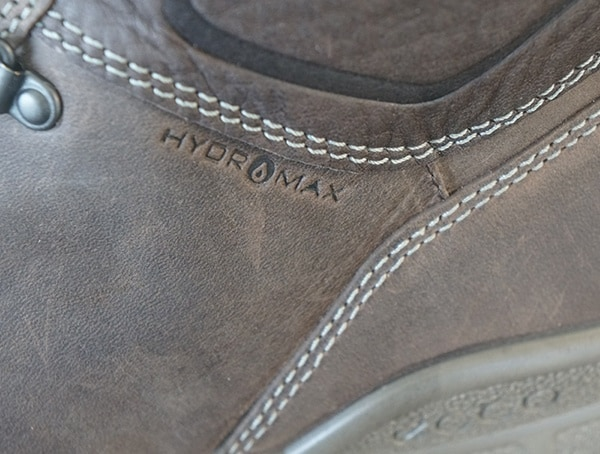 Hydromax Technology Treated Boot Leather