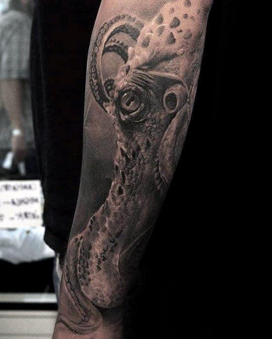 Octopus Tattoo Arm 50 Octopus Sleeve Tatt...