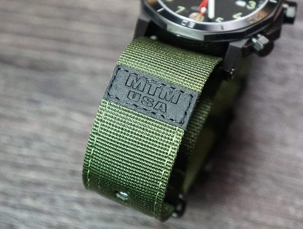 Hypertec H 61 270mm Green Nylon Nato Watch Strap