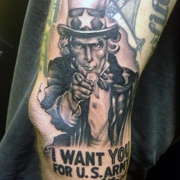 Us Military Tattoos: 90 Patriotic Tattoos For Men