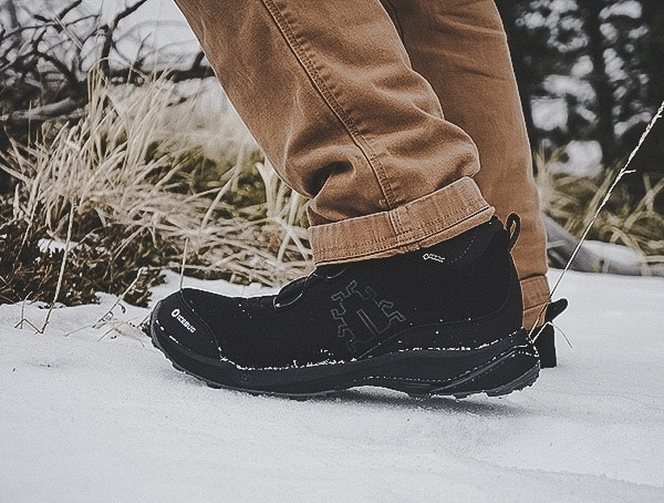 Ice Slip Resistance Icebug Detour Bugrip Gore Tex Boots Review