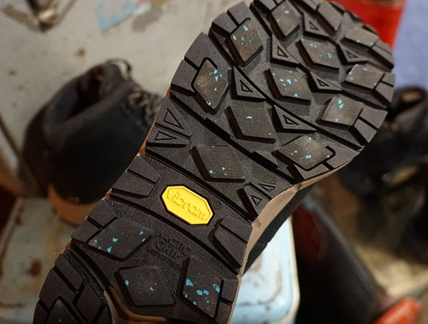 Ice Tread Vibram Sole On Boot
