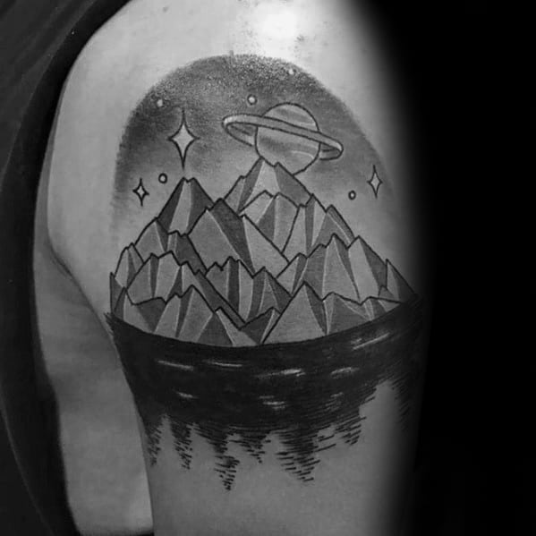 Iceberg Male Tattoo Designs