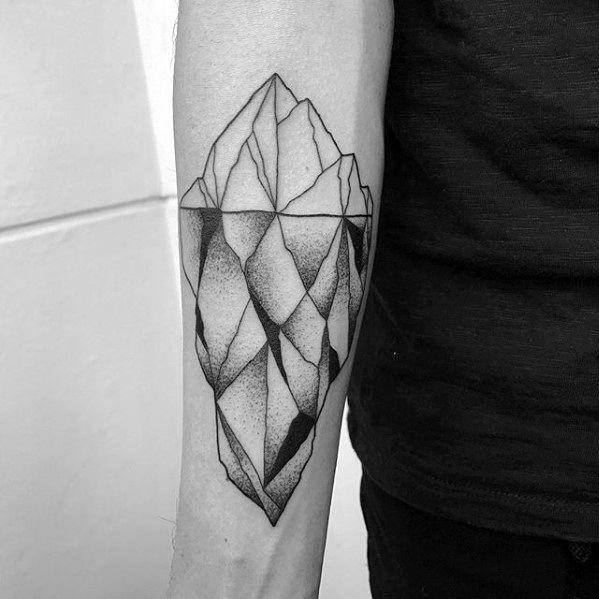 Iceberg Mens Tattoo Ideas