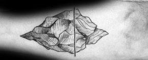 50 Iceberg Tattoos For Men – Floating Ice Design Ideas