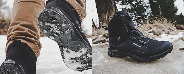 Icebug Men's Detour and Walkabout BUGrip GTX Boots Review – Studded Footwear