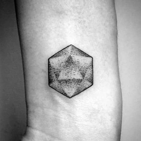 Icosahedron Guys Tattoos