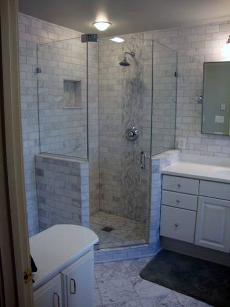 Idea Inspiration Corner Shower Designs