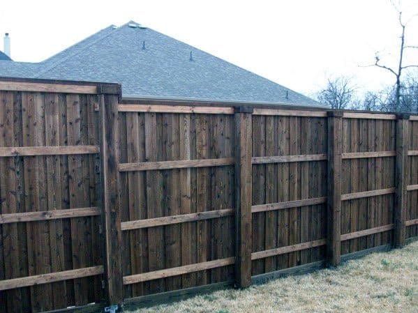 Idea Inspiration Dog Fence Tall Wood Designs