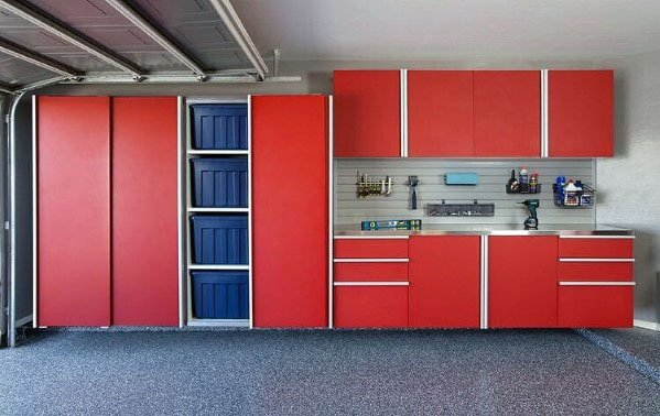 Idea Inspiration Garage Cabinet Designs