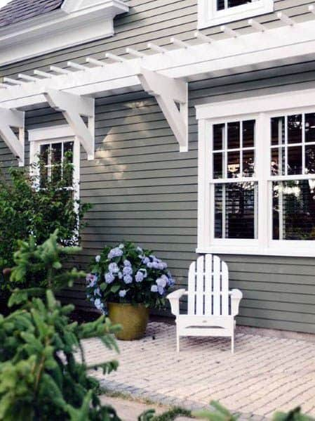 Idea Inspiration House Paint Designs Grey Siding